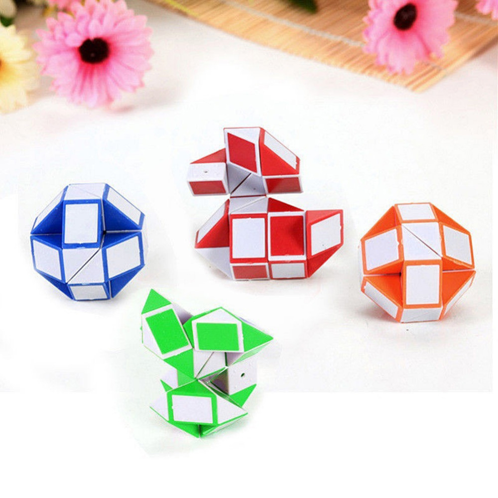 Children Fidget Toy Snake Magic Variety Fidget Toys Popular Twist Game Transformable Gift Puzzle Great For Releasing Stress Toys