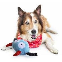 Электрическая игрушка собачка с вибрацией мяч для домашних животных