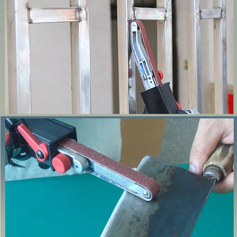 Winkel Grinder Mini DIY Sander Schleifen Gürtel Adapter Schleifen Maschine Bandfile Gürtel Kopf Sander für 115mm 4.5