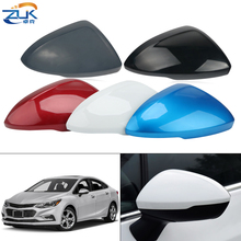 ZUK Exterior Rearview Mirror Cover For Chevrolet Cruze 2017 2018 2019 Outer Rear View Side Mirror Shell Housing Cap Colorful