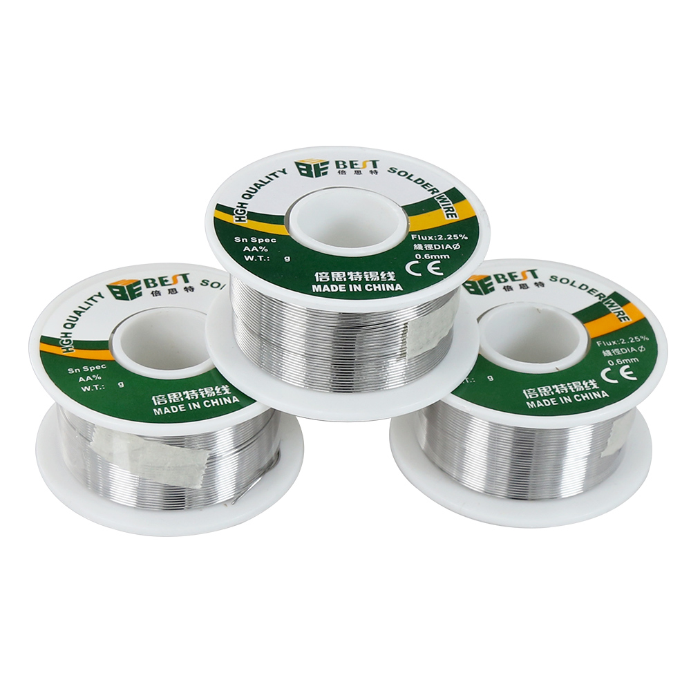 New Material Sn60 Pb40 Solder Wire 1.0/0.8/0.6/0.5/0.4/0.3mm 100G