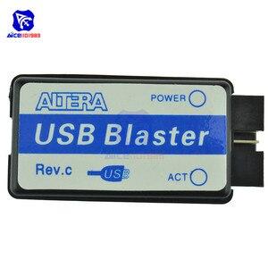 Image 4 - Diymore altera max ii epm240 cpld placa de desenvolvimento placa de aprendizagem usb blaster mini cabo usb cabo de conexão jtag de 10 pinos