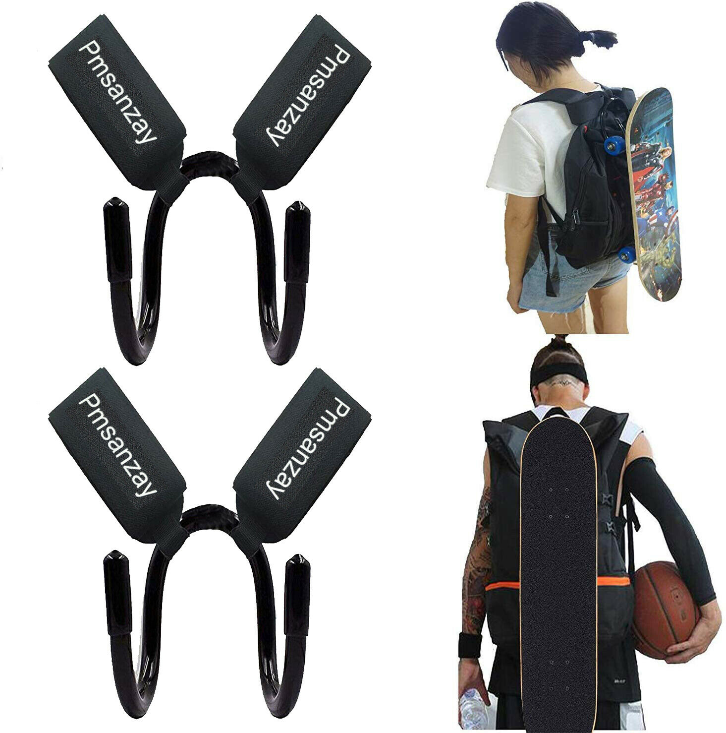 Deck hook for skateboard