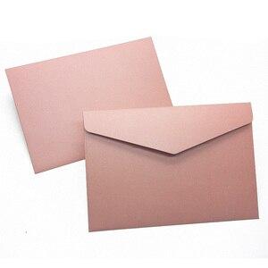 Image 5 - 40 יח\אריזה מערבי מעטפות בציר 250gsm פרל נייר עסקים, חתונה, מסיבה, Anniversity מעטפות 193mmX133mm
