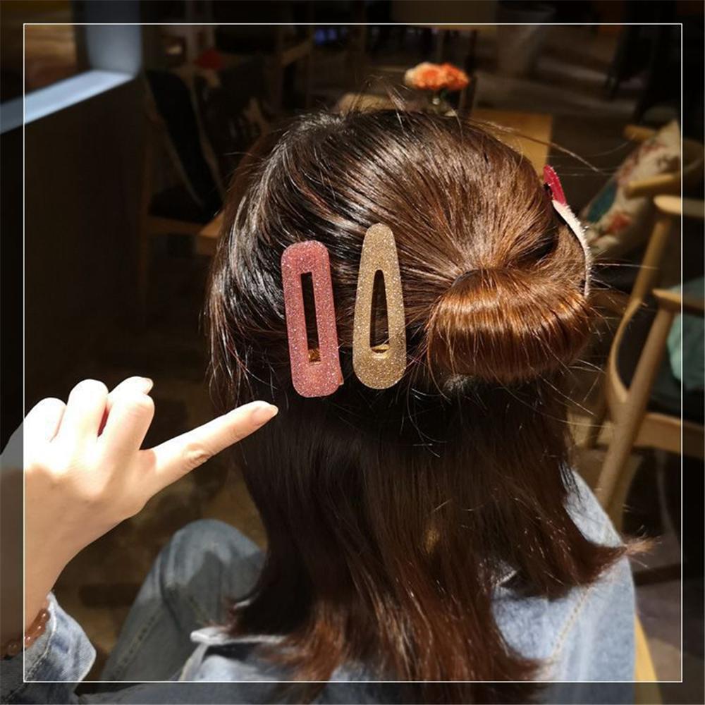 M-MISM-2019-New-Geometric-Korean-Fashion-Acrylic-Hair-Clips-Tin-Foil-Shiny-Sequins-Hairpins-Barrette