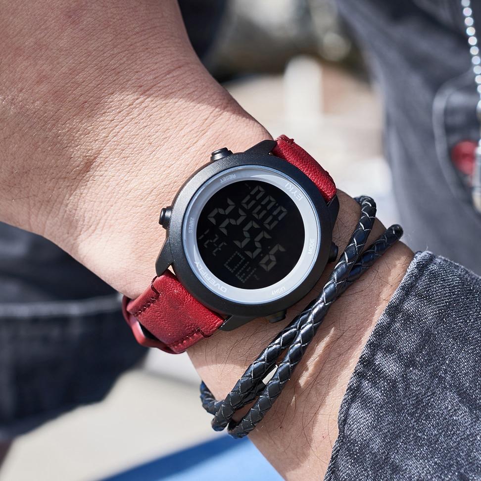 SANDA N58 новые мужские ЭКГ Смарт цифровые наручные часы женские умные лекарства напоминание сердечного ритма часы калорий Шаг наручные часы - 5