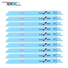 Newone Sägeblätter 225mm Multi Schneiden Für Bi metall auf Säbelsäge Power Werkzeuge Zubehör