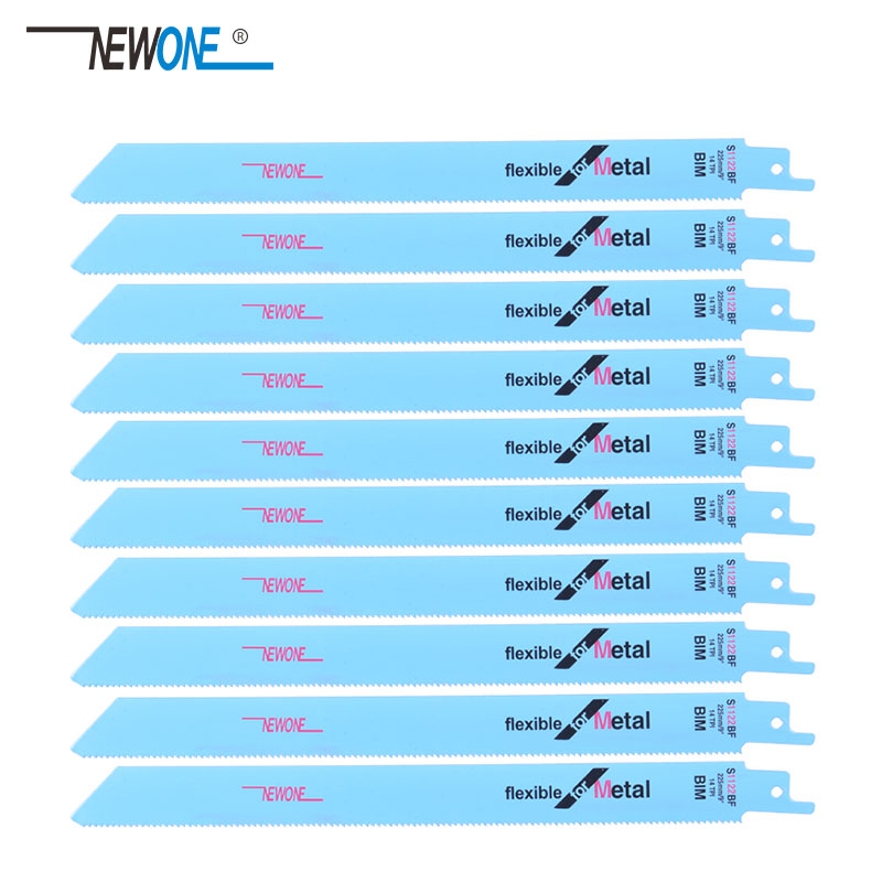 Newone Saw Blades 225mm Multi Cutting For Bi-metal On Reciprocating Saw Power Tools Accessories