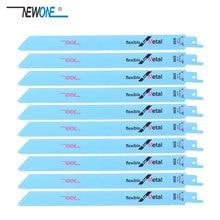 Newone Zaagbladen 225mm Multi Snijden Voor Bi metalen op Reciprozaag Power Tools Accessoires