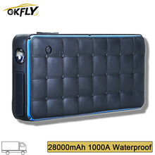 Charger Power-Bank Starting-Device Jump-Starter GKFLY Waterproof Battery-Booster 28000mah