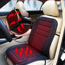 VORCOOL 1pc Safe Van Auto Seat Covers Heating Cushion 12v Car Heating Seat Cover Heated Pad Cushion Cover Car Seat Warmer (Black 12v universal car heated seat cover heating car seats cushion heater pad winter auto warmer with cigarette lighter covers
