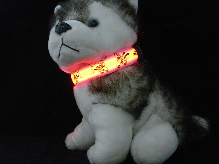Pet LED Luminous Collar Pet Supplies Night Light Dog Neck Small, Medium And Large Dogs Neck Ring