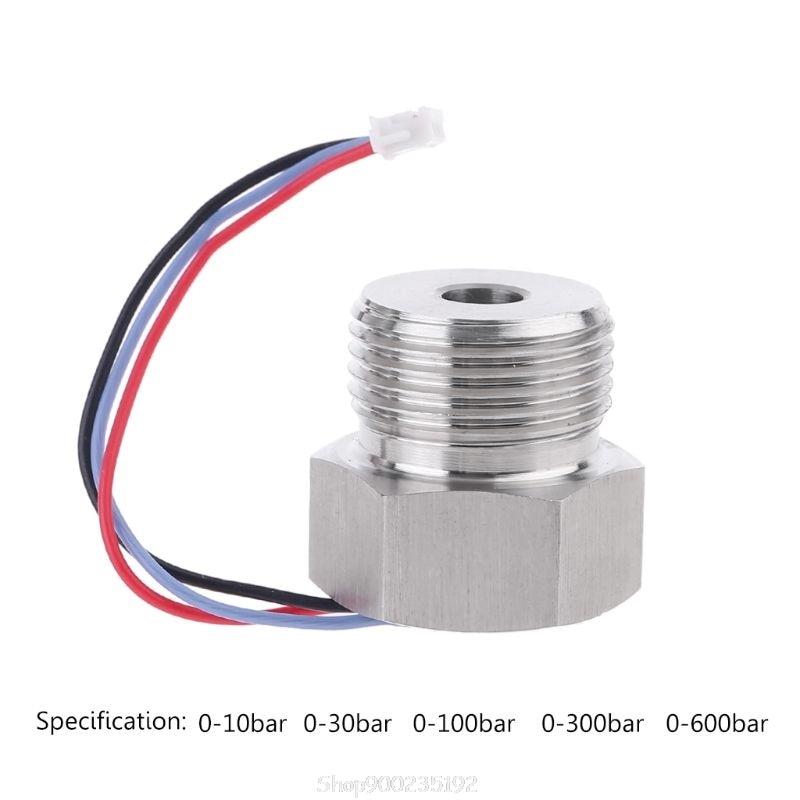 0-10//20//30bar Pressure Transmitter Transducer 1//8 Input 8-32V 24V 4-20mA Output