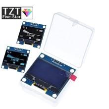 4pin 1.3 oled módulo branco/azul cor 128x64 1.3 polegada oled lcd display led módulo 1.3