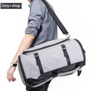 Image 5 - KAKA 40L Men Backpack 15.6 Laptop bag Shoes Backpack Travel Sports Fitness Bags For Women Teenagers School Bagpack Rucksack