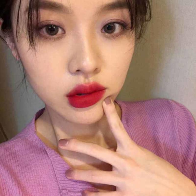 Chestnut Velvet Matte Liquid Lipstick Waterproof Lip Gloss Long Lasting Nude Lipstick Women Red Lip Tint Beauty Cosmetic TSLM2 6