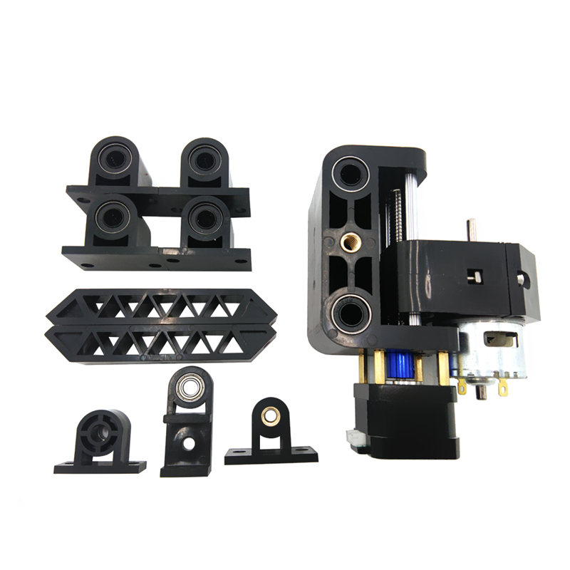 Desktop CNC 1610 2418 3018 Pro Injection Plastic Mould Kit 10 In 1 With Zaxis 775 Spindle Lead Screw Guide Rail 42 Stepper Motor