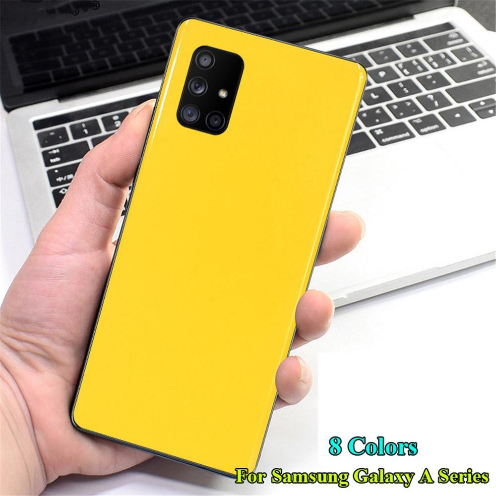 Глянцевая пленка для Samsung Galaxy A90 A80 A70 A60 A50 A40 A30 A20 A20S A30S A40S A50S A70S A51 A71
