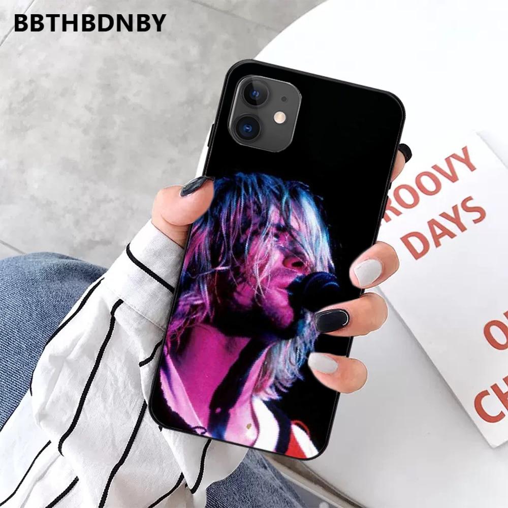 Perdere per sempre di Arte Della Copertura americano rock Nirvana Kurt Cobain Smiley Cassa Del Telefono Per Il iphone 5 5S SE 5C 6 S 7 8 più di X XS XR 11 PRO MAX