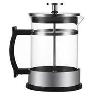 Professional350Ml 手動コーヒーエスプレッソメーカーポットステンレス鋼ガラスティーポットフレンチコーヒー茶パーコレーターフィルタープレスプランジ -