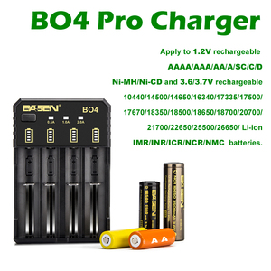 Image 5 - BASEN 18650 Battery Charger for 1.2V 3.7V 3.2V 18650 26650 21700 18350 AA AAA lithium NiMH battery smart charger 5V 2A plug