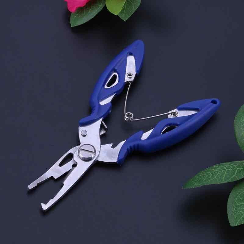 Szczypce wędkarskie nożyczki dzielone drut przecinak żyłki Hook Removers