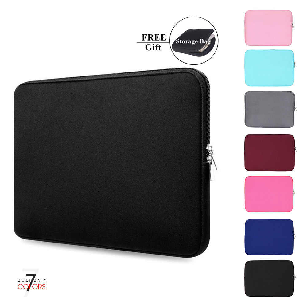 "Capa para notebook laptop, tablet, 11 ""12"" 13 ""15"" 15.6 ""para macbook pro retina do ar 14 polegadas para xiaomi huawei hp dell"