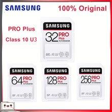 Carte mémoire d'origine SAMSUNG extrême Pro/Ultra 64 go carte mémoire SD 32 go carte flash 128 go 256 go classe 10 U3 pour caméra Full HD 3D 1080p