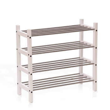 Solid wood shoe rack multi-layer simple shoe cabinet simple modern shoes shelf storage rack creative shoe rack