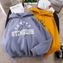Kawaii ponadgabarytowe bluzy damskie bluzki ubrania z nadrukiem z długim rękawem bluzy z kapturem damskie miękkie koreańskie bluzy damskie tanie tanio COTTON CN (pochodzenie) REGULAR Pełna sweatshirt women 350g Swetry Drukuj Na co dzień Osób w wieku 18-35 lat O-neck oversized hoodie women