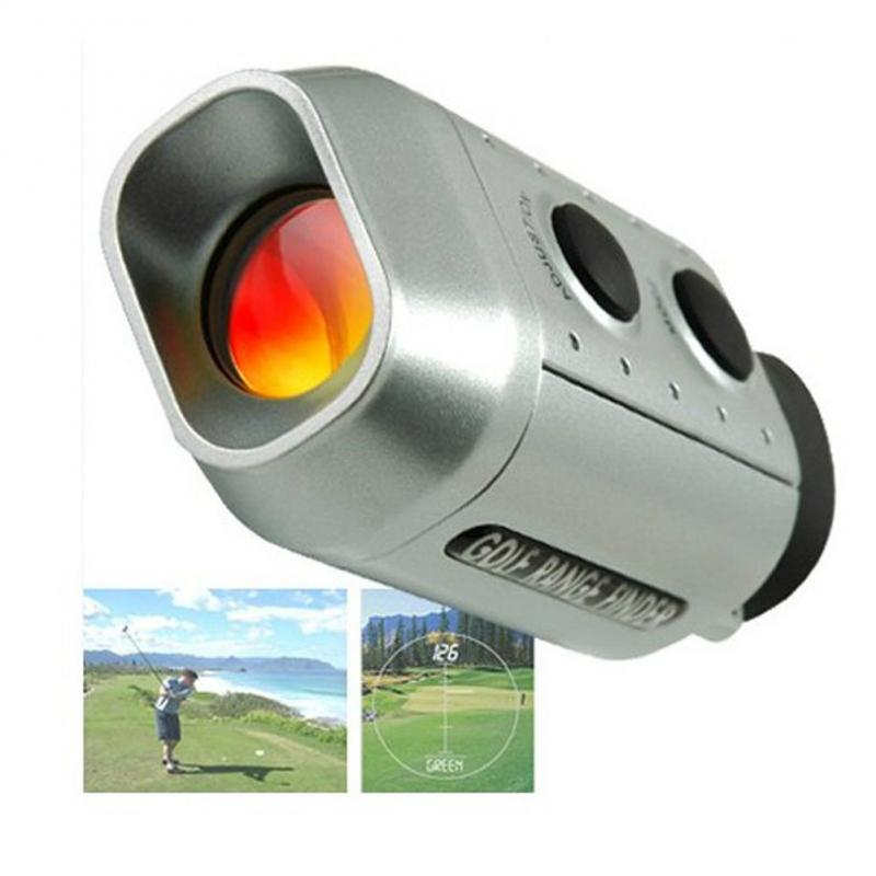 7x930 Yards Digital Optic Telescope Laser Golf Range Finder Golf Scope Yards Measure Distance Meter Rangefinder 7X Magnification