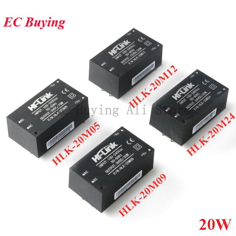 AC-DC Mini Isolation Switch Power Supply <font><b>Module</b></font> AC DC <font><b>220V</b></font> <font><b>to</b></font> 5V/9V/<font><b>12V</b></font>/24V 20W HLK-20M05 HLK-20M09 HLK-20M12 HLK-20M24 image