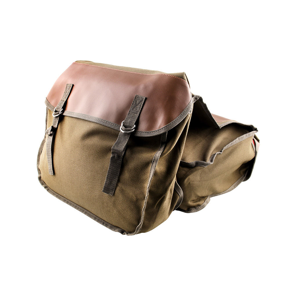 Motorcycle Saddlebag Canvas Backseat Luggage Bag For yamaha r15 v3 cygnus 125 xt660 pw 80 xj <font><b>600</b></font> mt07 dt <font><b>50</b></font> xmax 125 mt 07 image