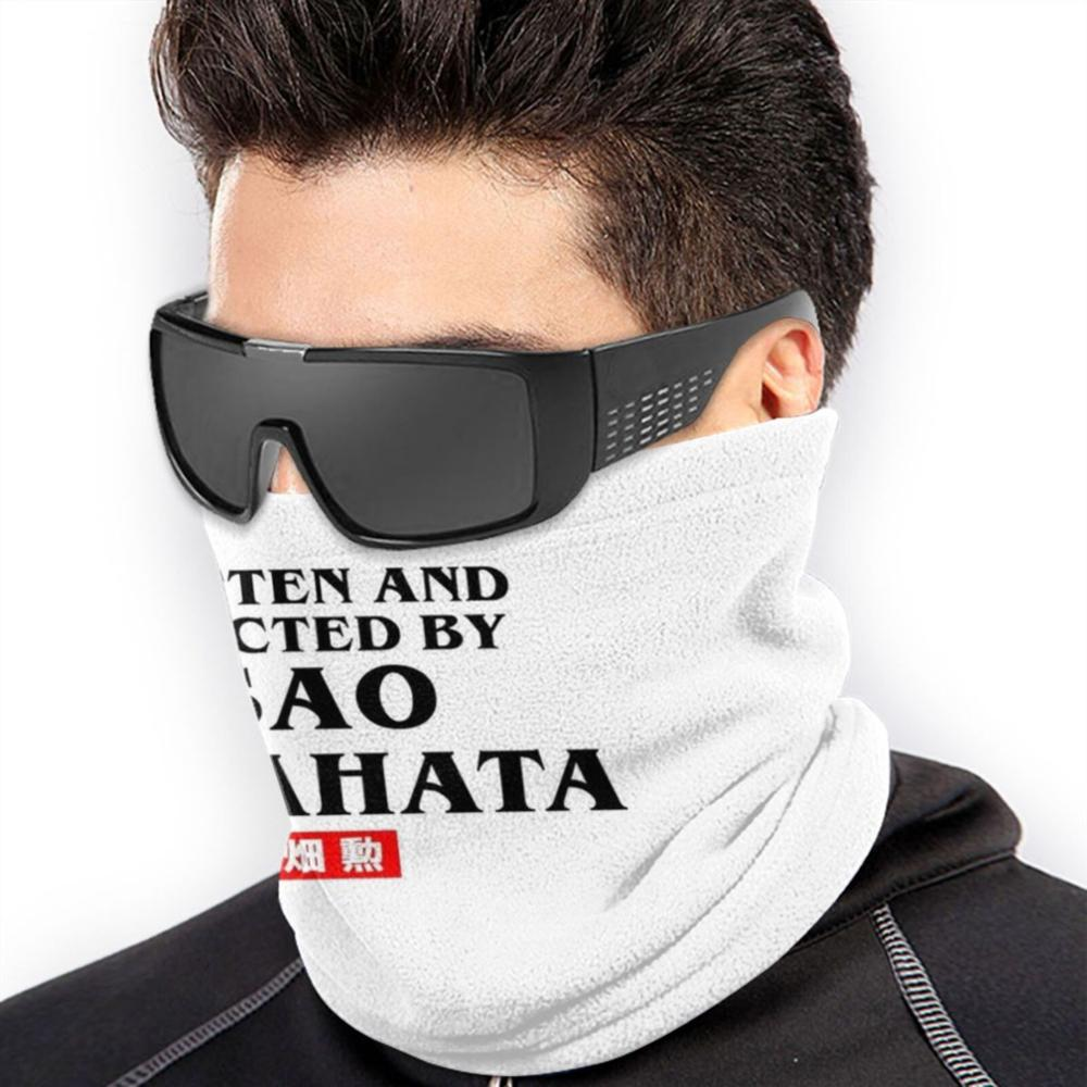 Written And Directed By Isao Takahata Microfiber Neck Warmer Bandana Scarf Face Mask