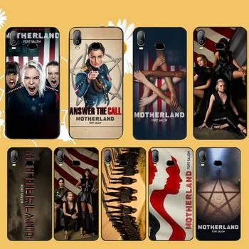 NBDRUICAI Motherland Fort Salem DIY Luxury Phone Case For Samsung A10 A20 A30 A40 A50 A70 A71 A51 A6 A8 2018 image