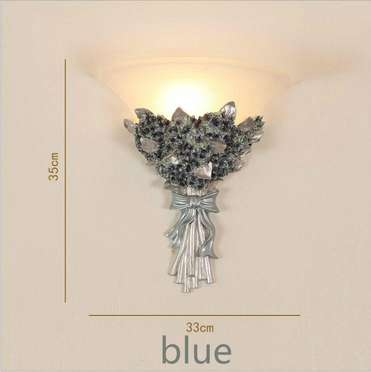 Европейская спальня прикроватная лампа креативная Простая Современная гостиная фон настенная лестница коридор балкон светодиодная садов...
