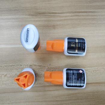 i-beauty 5/10bottles/lot IB Ultimate bond Glue fast drying eyelash extensions glue orange cap 5ml False eyelash Korea Black glue