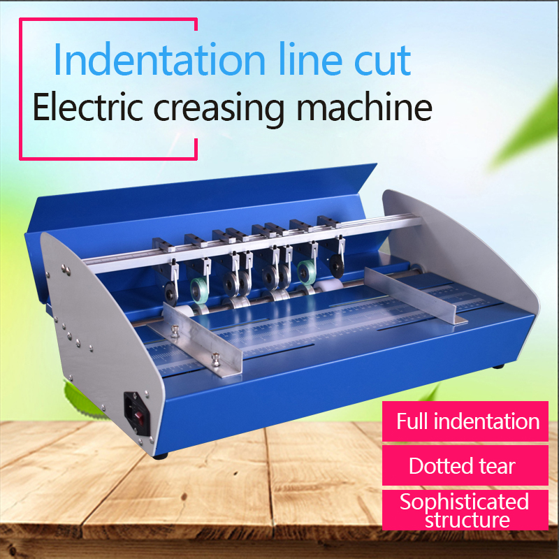 "20.5/"" Electric Creaser Paper Creasing Machine Scoring Dotted Line Heavy Duty"