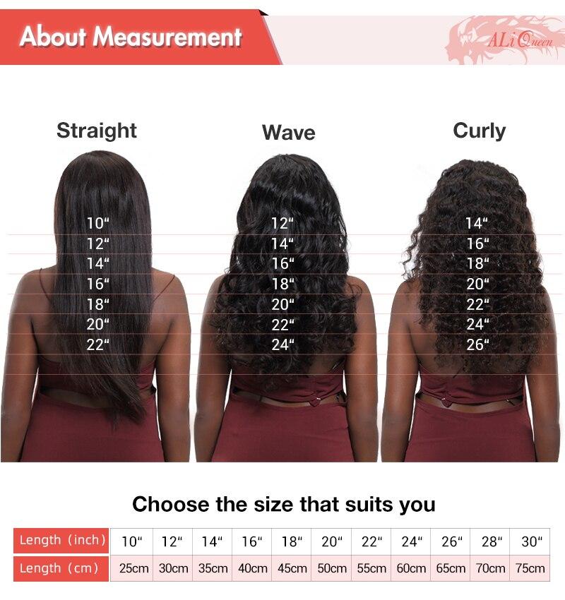 polegadas 150% densidade virgem onda do corpo