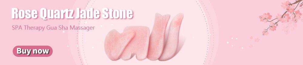 Rose Quartz Jade Stone