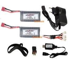 XINLEHONG – 2 pièces mise à niveau pour télécommande de voiture Rc 3200mAh 9125 mah 7.4 mah 1600 mAh, batterie Lipo XLH 9125 7.4 v 1600 mah