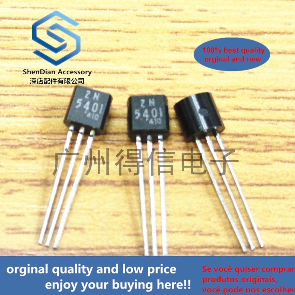 30pcs 100% Orginal New 2N5401 5401 Plastic-Encapsulated Transistors TO-92 Real Photo