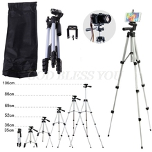 Portable Adjustable Tripod Flexible Stand Mount Holder Clip Set Universal Tripods for Phone Camera for iphone Samsung