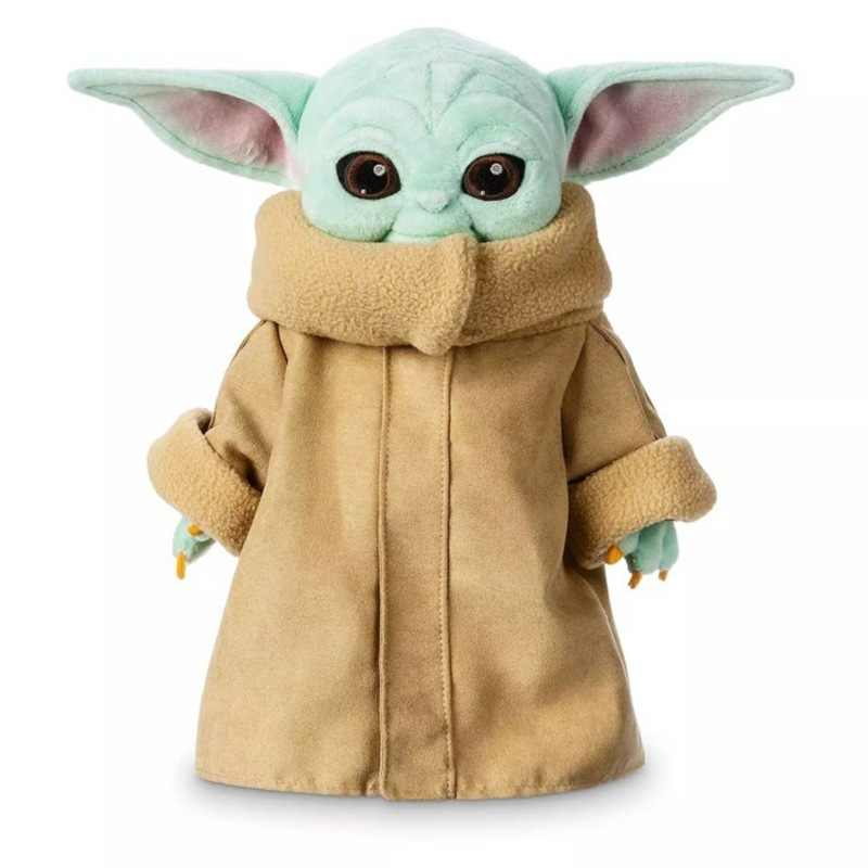 30cm Kraft Weckt Baby Yodaing Krieg Kinder Plüsch Spielzeug Cartoon Peluche Nette Stern Weisheit Master Kind Stopften Spielzeug Für kinder