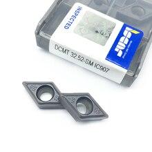Токарный инструмент DCMT11T308 SM IC907, твердосплавная пластина dcmt 11t308, режущий инструмент для токарного станка, 20 шт.