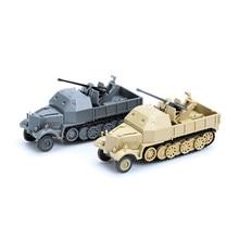 1:72 4d plástico montar sd. kfz.7/2 panzer tanque modelo segunda guerra mundial modelo puzzle montar brinquedos militares para presentes das crianças