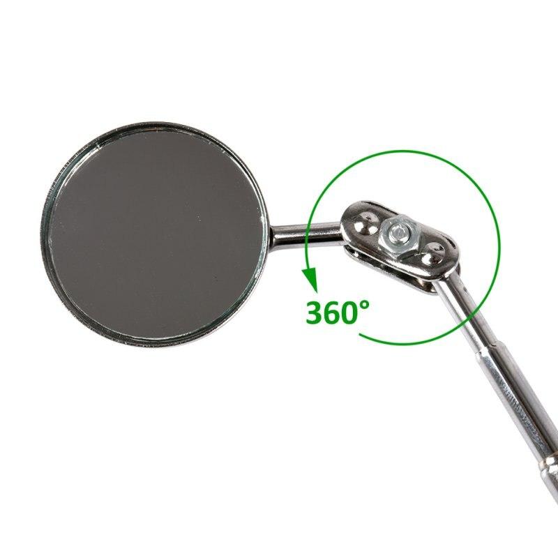 30 мм автомобильное обслуживание шасси инспекционное Зеркало Универсальный складной телескопический отражатель инспекционное зеркало Sie
