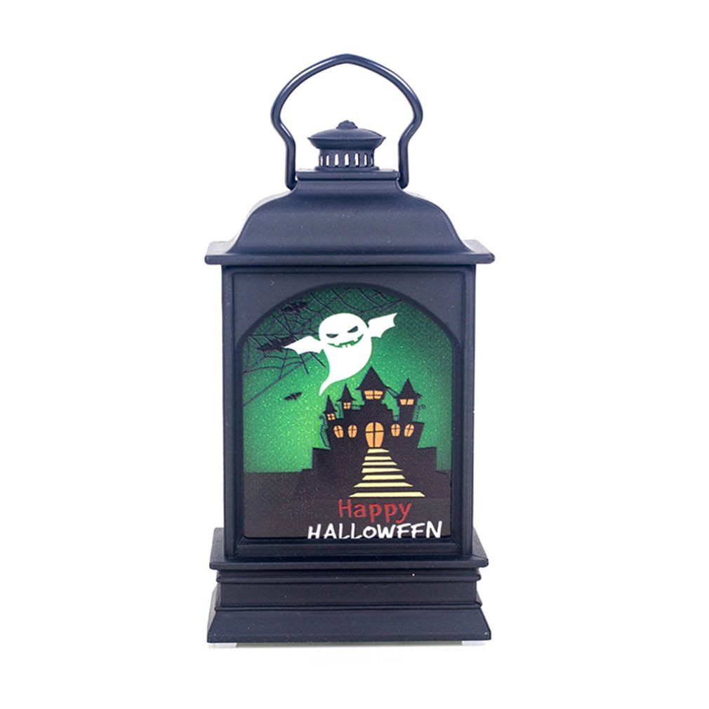 Creative Halloween Decorations Painted Wind Lamp Pendant Halloween Bar Home Atmosphere Decoration Props