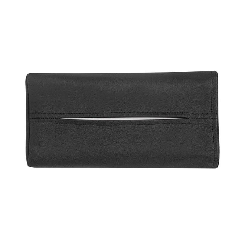 Tissue Holder Car Tissue Box Sun Shield Panel Heardset Handrest Box PU Leather Sun Vison Holder Multiple Function Auto