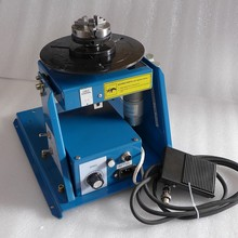 Shipment From Russia 220V BY 10 Mini Welding Positioner Turntable Table 3 Jaw Lathe Chuck K01 63 Pipe Semi Automatic